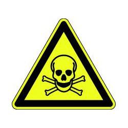 Panneau Danger matières toxiques