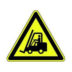 Panneau Danger chariots élévateurs à fourche et autres véhicules industriels