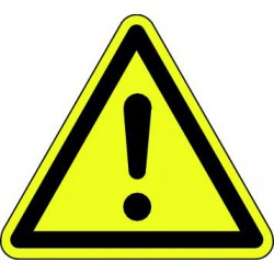 Panneau Danger signal général