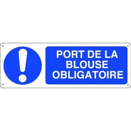 Panneau d 39 obligation port de la blouse obligatoire panosur - Port de couche obligatoire ...