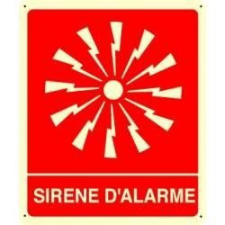 sirène alarme incendie