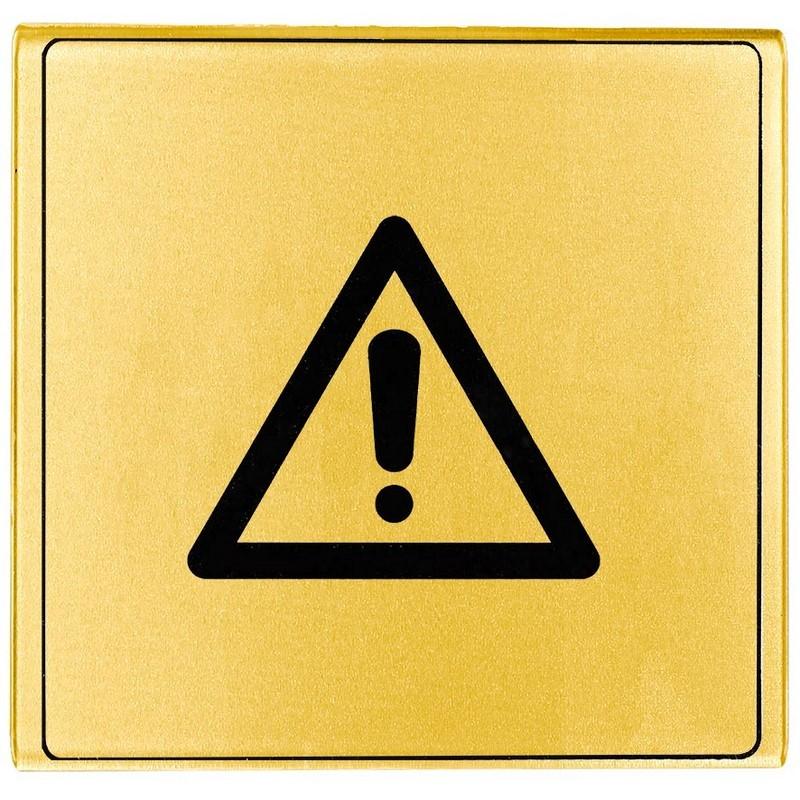 Plaque signal tique en plexiglas or 170x45mm panosur - Plaque en plexiglas ...