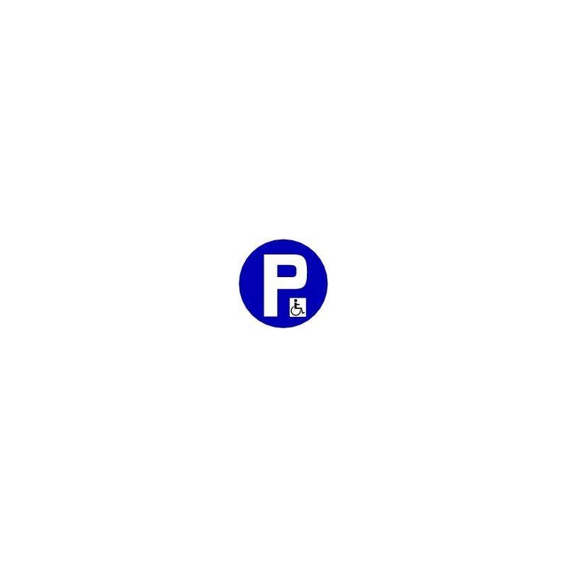 panneau parking handicap panosur. Black Bedroom Furniture Sets. Home Design Ideas