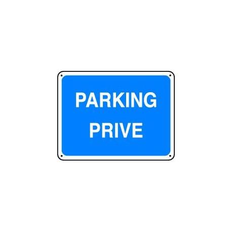 panneau parking prive panosur. Black Bedroom Furniture Sets. Home Design Ideas