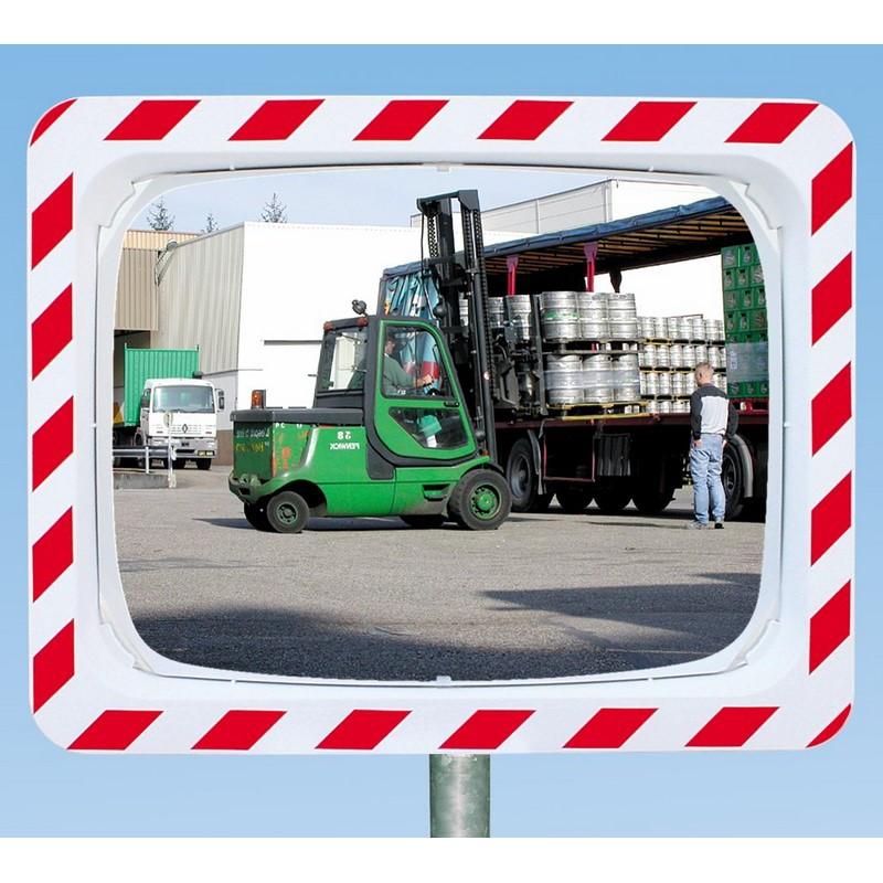 Miroir industriel incassable antivandalisme dim for Miroir incassable