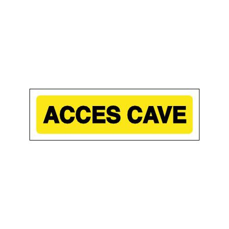 ACCES CAVE