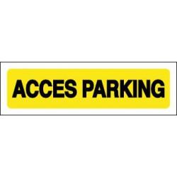 ACCES PARKING