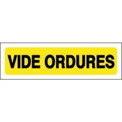 VIDE ORDURES
