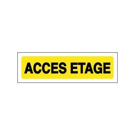 ACCES ETAGE