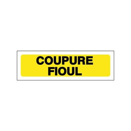 COUPURE FIOUL
