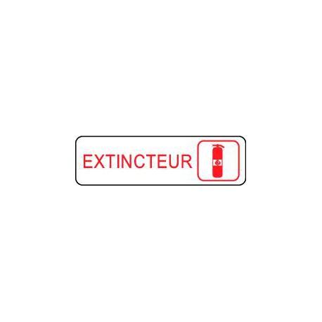 Plaque gravée EXTINCTEUR