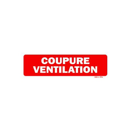 Coupure Ventilation