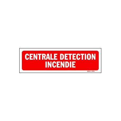 Centrale Détection Incendie