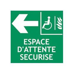 Espace d'Attente Sécurisé à Gauche