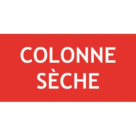 COLONNE SECHE