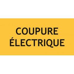 COUPURE ELECTRIQUE