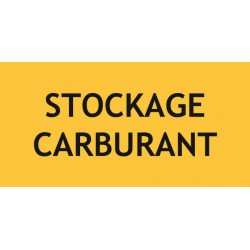 STOCKAGE CARBURANT