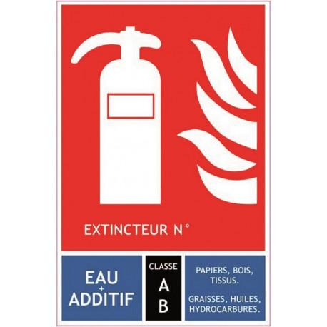 Classification des extincteur, classe AB