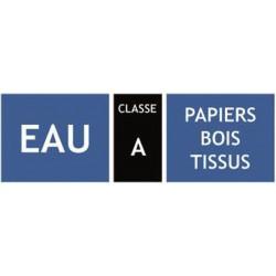 Classification des extincteur, classe A