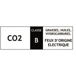 Classification des extincteur, classe B