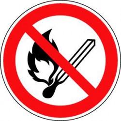 Flammes nues interdites