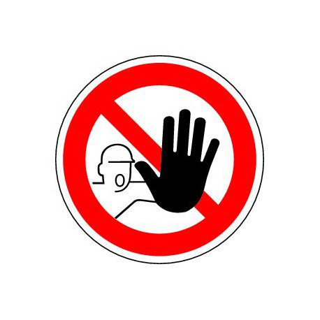 Entrée interdite aux personnes non autorisées