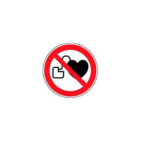 Entrée interdite aux porteurs d'un stimulateur cardiaque