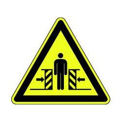 Panneau Danger écrasement