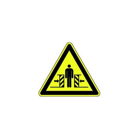 Danger écrasement