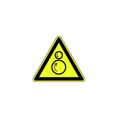 Danger rouleaux contrarotatifs
