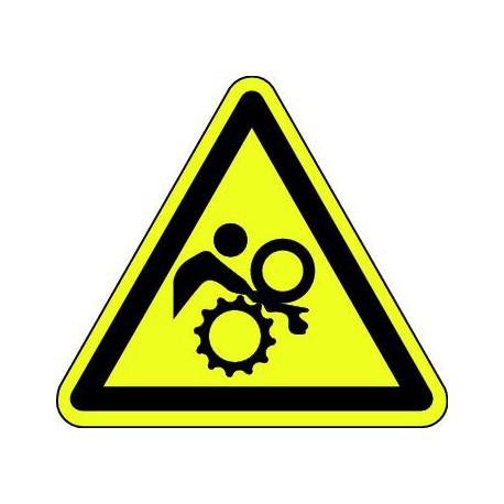 Danger risque de Blessure sur l'entrainement par engrenages