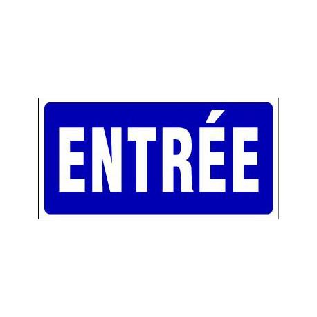PANNEAU GRAND FORMAT ENTREE