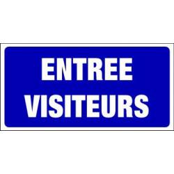 PANNEAU GRAND FORMAT ENTREE VISITEURS