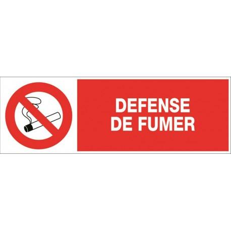 DEFENSE DE FUMER + PICTO