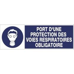 130f13fd5240ef PANNEAU PORT D UNE PROTECTION DES VOIES RESPIRATOIRES OBLIGATOIRE + PICTO