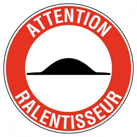 ATTENTION RALENTISSEUR