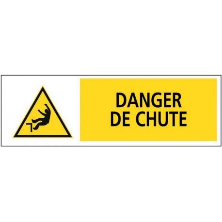 DANGER DE CHUTE + PICTO