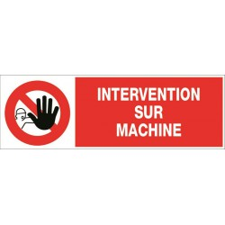 INTERVENTION SUR MACHINE + PICTO