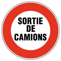 SORTIE DE CAMIONS