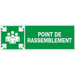 POINT DE RASSEMBLEMENT + PICTO
