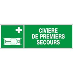 CIVIERE DE PREMIERS SECOURS + PICTO