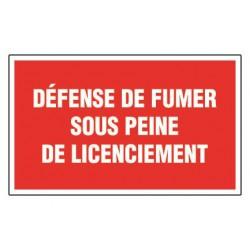 Défense d'entrer sous peine de licenciement