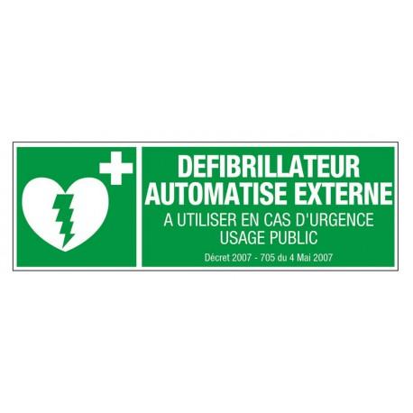Défibrillateur Automatisé Externe