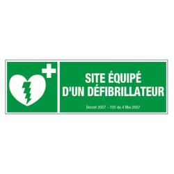 Site Equipé d'un défibrillateur