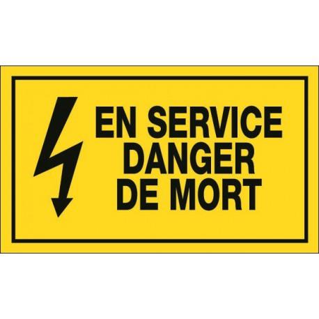 En service Danger de Mort