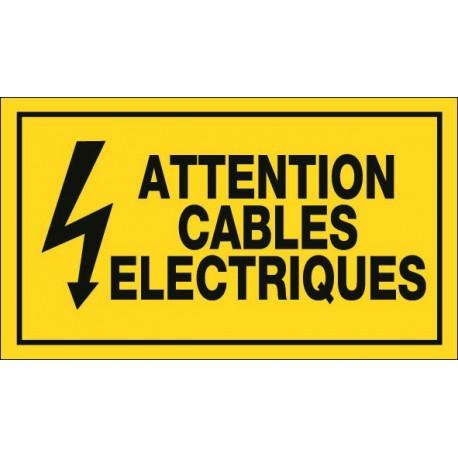 Attention Cables Electriques