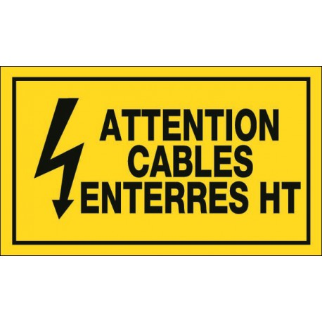 Attention Cables Enterrés HT