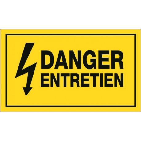 DANGER ENTRETIEN