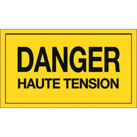 Danger Haute Tension