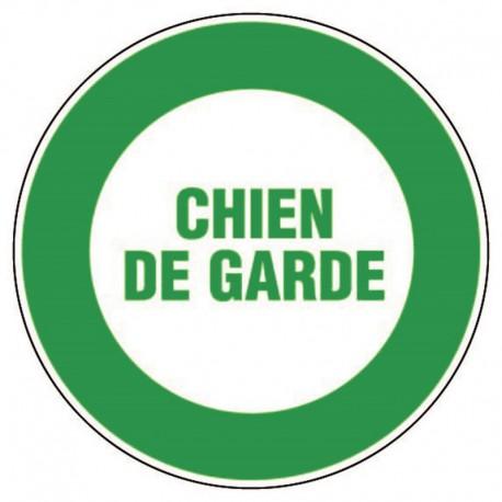 PANNEAU CHIEN DE GARDE